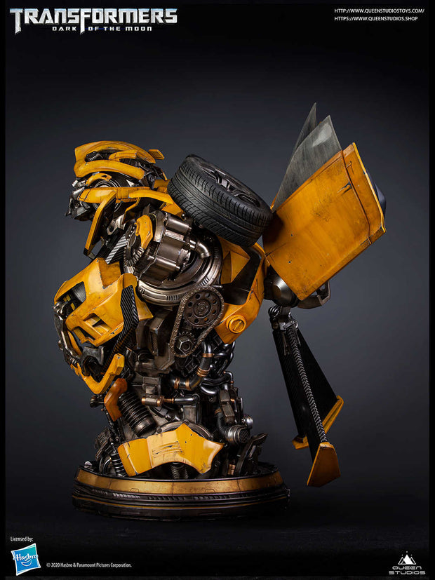Bumblebee Transformers Collectible Bust by Queen Studios