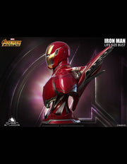 Iron Man MK50 Lifesize bust by Queen Studios