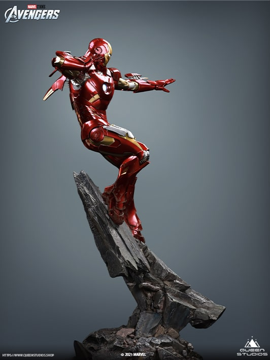 Collectible Iron Man Statue