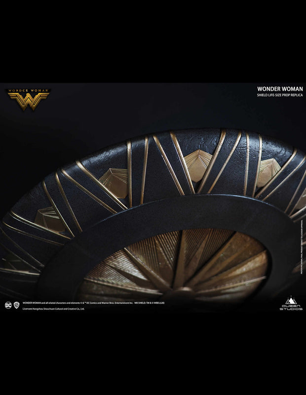 Collectible Queen Studios Wonder Woman Shield Metal