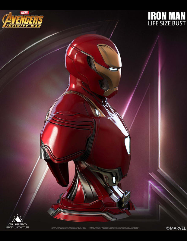 Collectible Iron Man Mark 50 Bust