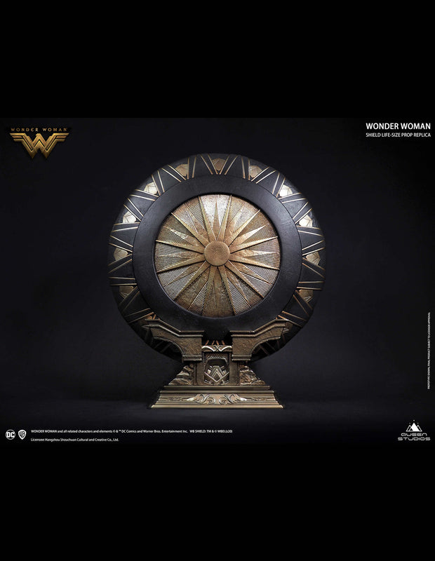 Limited Edition Polystone Collectible Wonder Woman Shield