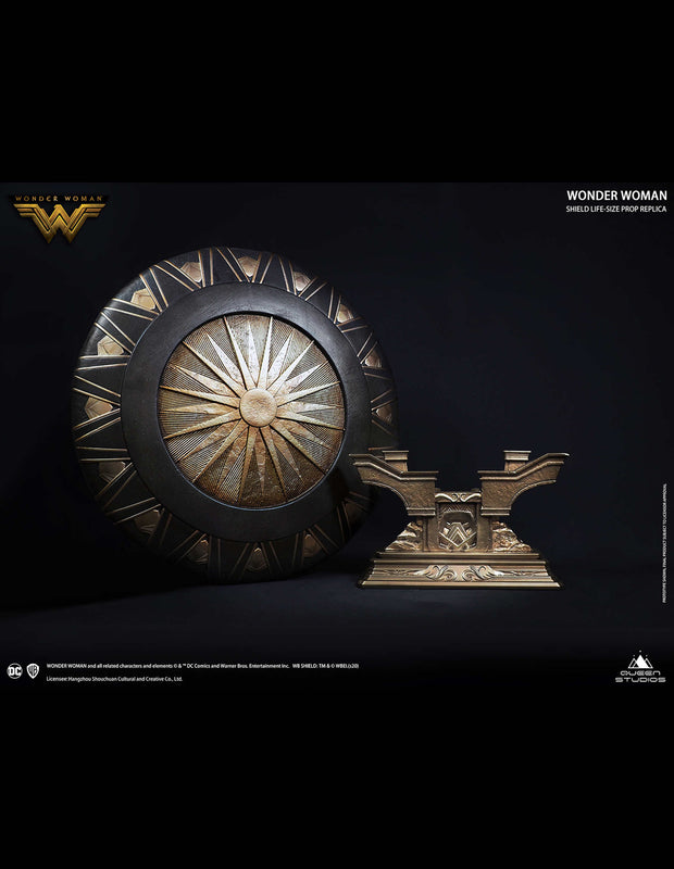 Polystone Collectible Wonder Woman Shield by Queen Studios
