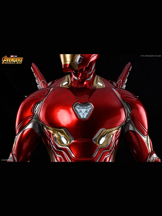 Iron Man Mark 50 Limited Edition Collectible Life-Size Statue
