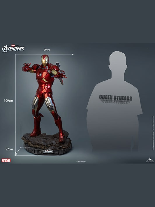 Iron Man Mark 7 Collectible Statue