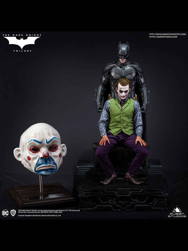 Joker Clown Mask Lifesize prop replica