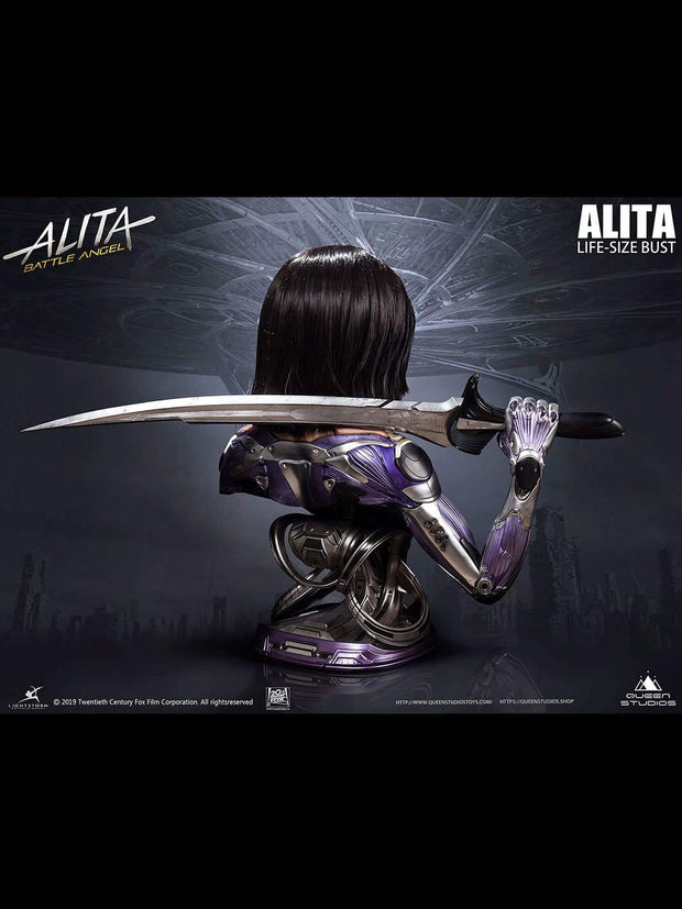 Life-like Alita Battle Angel Bust