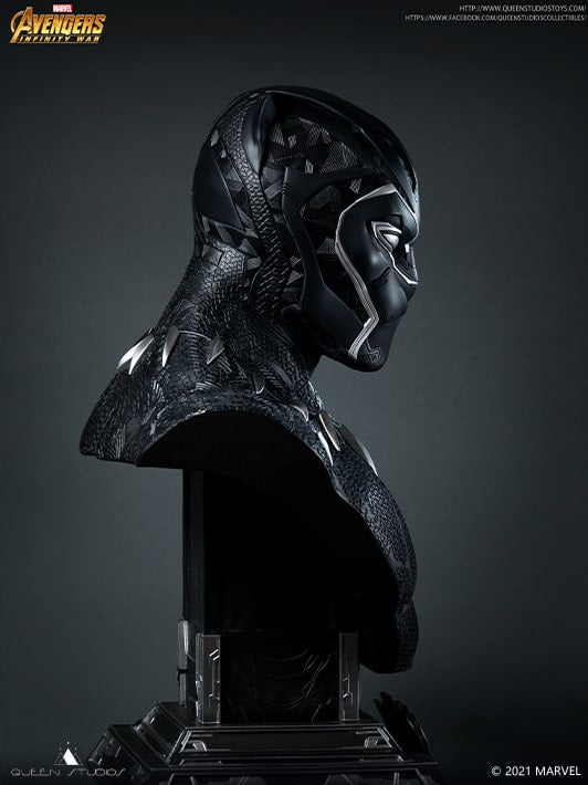 1:1 Lifesize Black Panther Bust