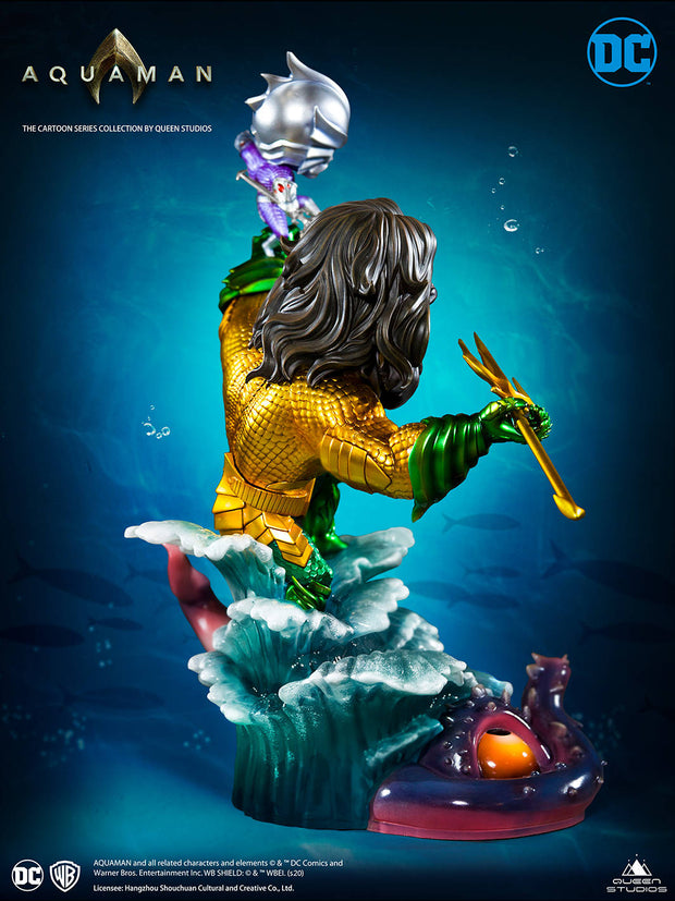 Cartoon Series Aquaman by Queen Studios