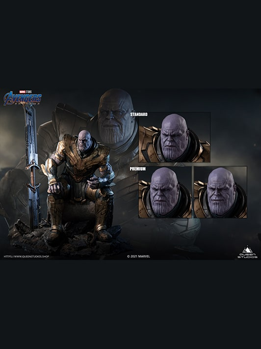 Queen Studios Thanos Premium Edition
