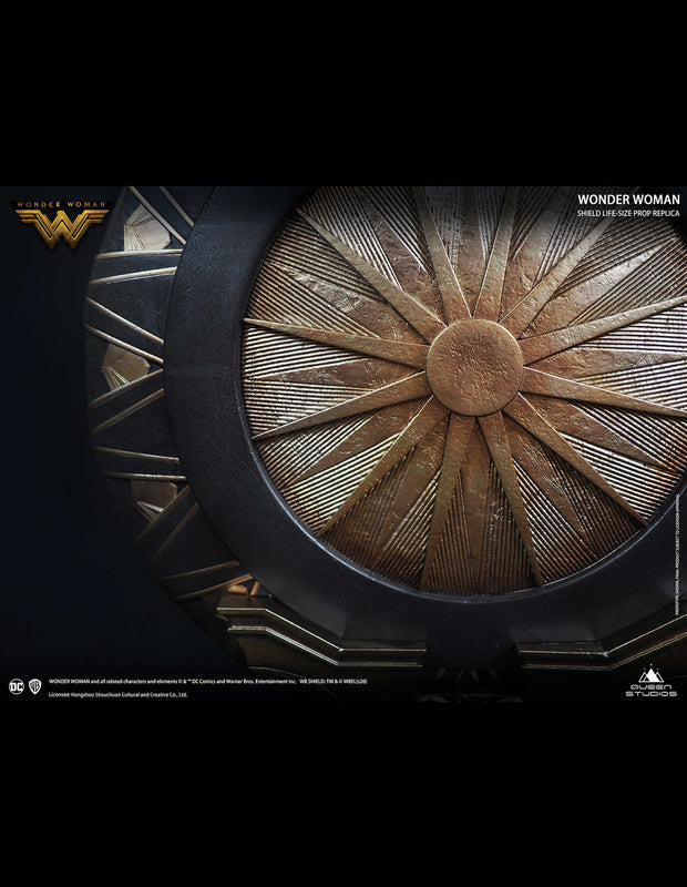 Collectible Wonder Woman Shield By Queen Studios