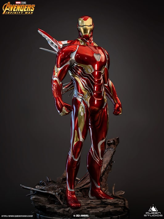 Queen Studios half scale Iron Man Mark 50