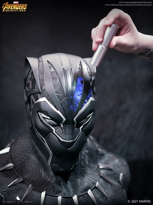 Black Panther 1:1 Lifesize Bust by Queen Studios