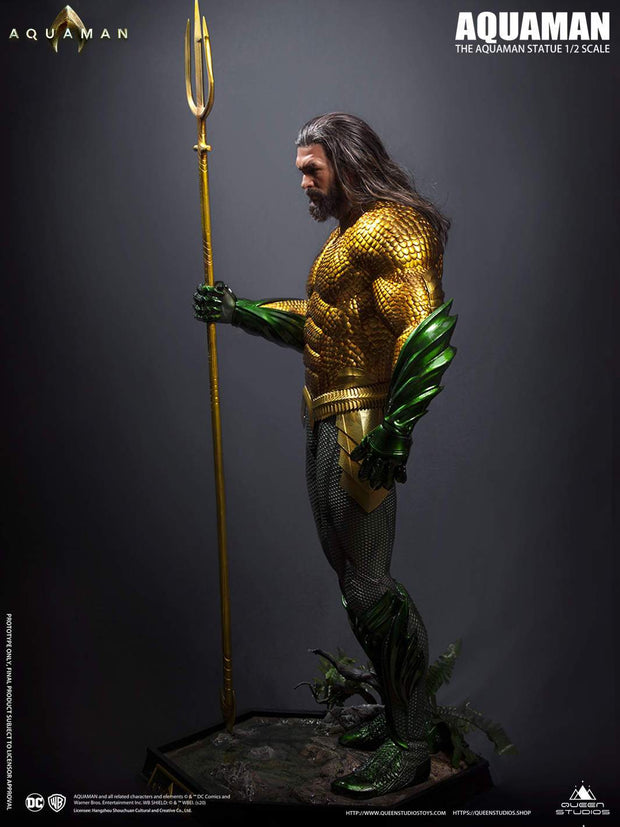 Queen Studios Collectible 1-2 Aquaman Bust