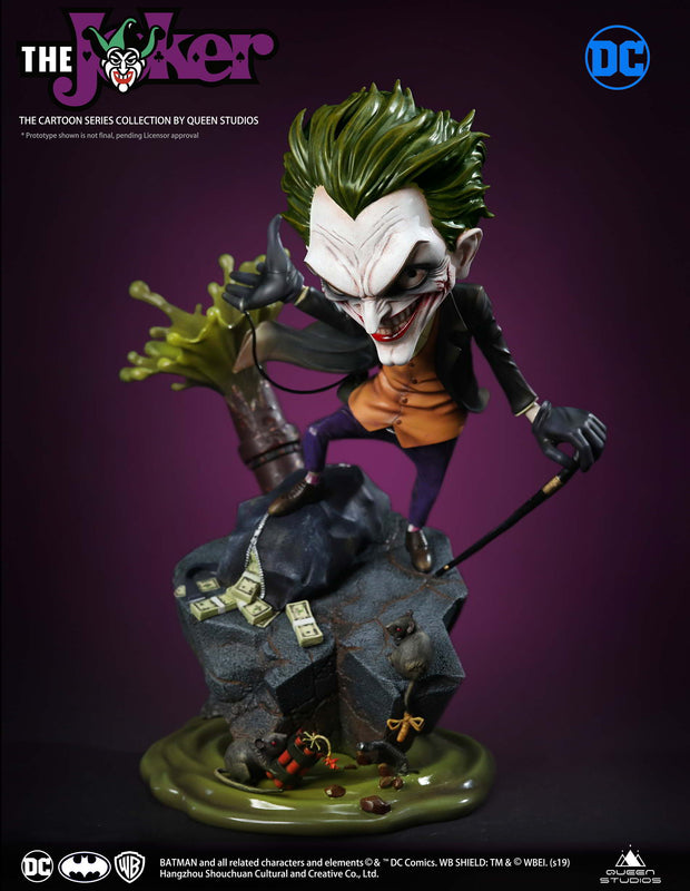 Cartoon Joker 1:3