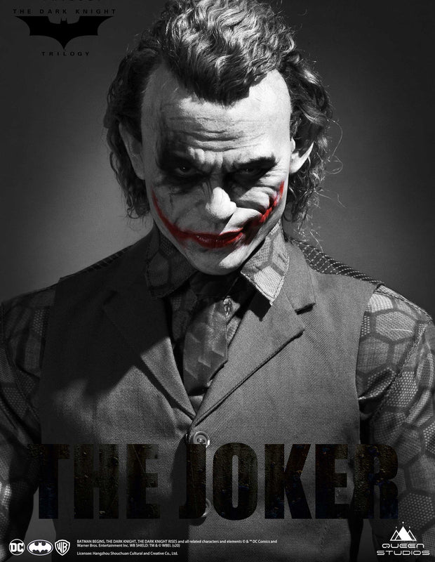 Heath Ledger Joker 1:3 Statue by Queen Studios (Special Edition)