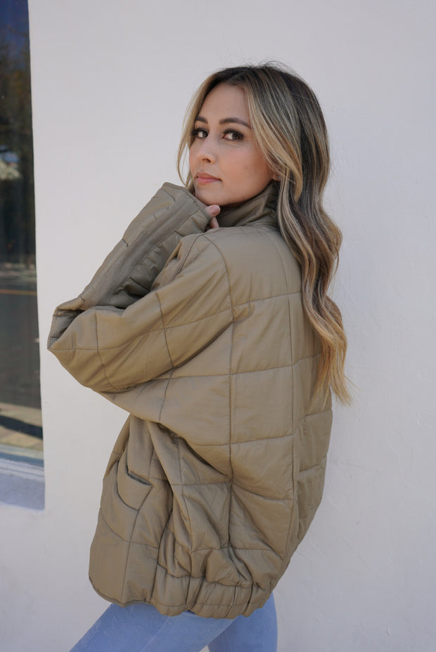 The Sage Quilted jacket