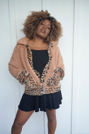 Ruby Leopard Jacket