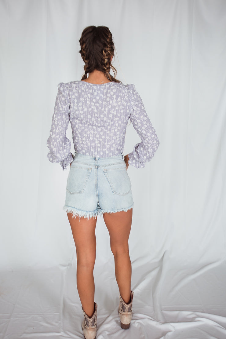 Mina High Rise Shorts