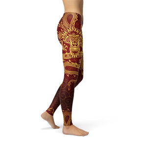 Mythical Dragon Leggings - Earthroots