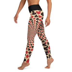 Red Queen Yoga Leggings - Earthroots