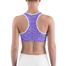 Load image into Gallery viewer, Cute Cat Sports bra - Earthroots