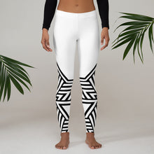 Load image into Gallery viewer, Leggings Geometric 6 (White) - Earthroots