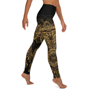 Dreamcatcher Owl Yoga Leggings - Earthroots