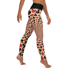 Load image into Gallery viewer, Red Queen Yoga Leggings - Earthroots
