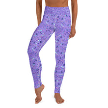 Laden Sie das Bild in den Galerie-Viewer, Cute Cat Yoga Leggings - Earthroots