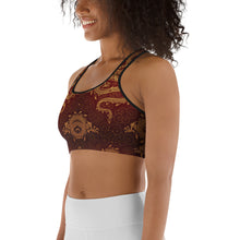 Load image into Gallery viewer, Mythical Dragon  Sports bra - Earthroots