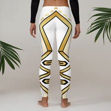 Load image into Gallery viewer, Leggings Geometric 4 (White) - Earthroots