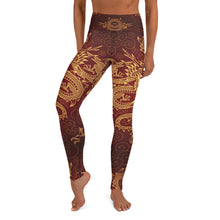 Load image into Gallery viewer, Mythical Dragon  Yoga Leggings - Earthroots