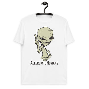 Allergic to Humans 100% Organic T-shirt