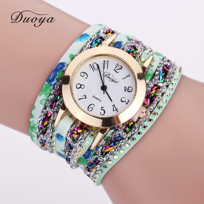 <B>JOY OF LIFE</B> | Orologio braccialetto per donna e ragazza colore <B>VERDE</B> (<I>Woman and girl bracelet watch GREEN</I>)