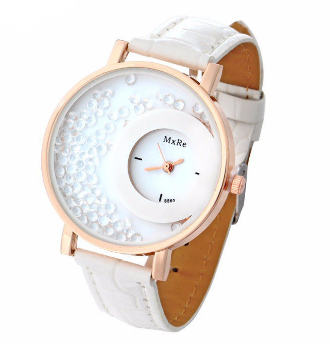 <B>CIRCLES MxRe</B> | Orologio donna e ragazza colore <B>BIANCO</B> (<I>Woman and girl watch WHITE</I>)