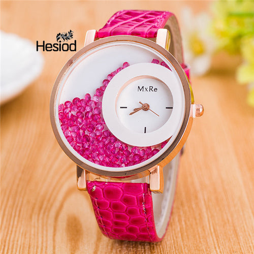 <B>CIRCLES MxRe</B> | Orologio donna e ragazza colore <B>FUCSIA</B> (<I>Woman and girl watch FUCHSIA</I>)