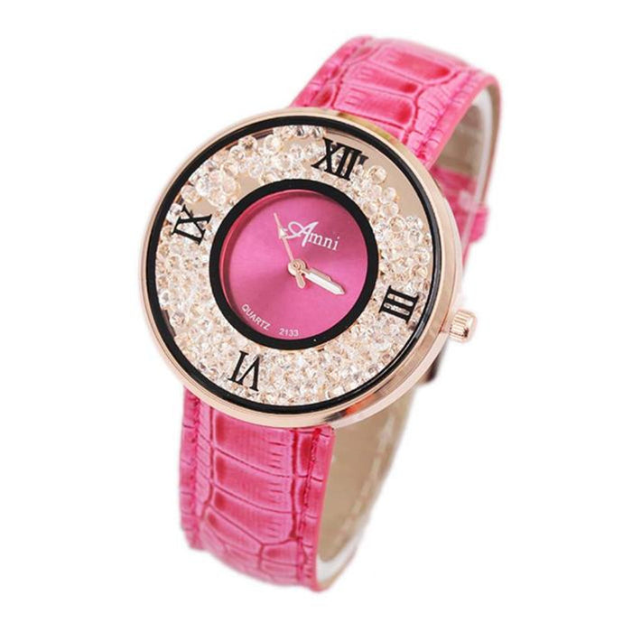 <B>BREEZE CHIC</B> | Orologio donna e ragazza colore <B>FUCSIA</B> (<I>Woman and girl watch FUCHSIA</I>)