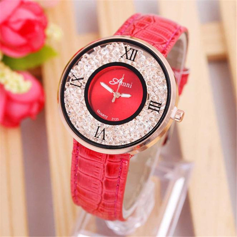 <B>BREEZE CHIC</B> | Orologio donna e ragazza colore <B>ROSSO</B> (<I>Woman and girl watch RED</I>)