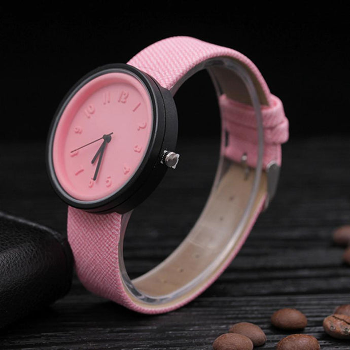 <B>PLASTIC COLORS</B> | Orologio UNISEX per donna, uomo, ragazza e ragazzo colore <B>ROSA</B> (<I>UNISEX watch for men, woman, girl and boy PINK</I>)