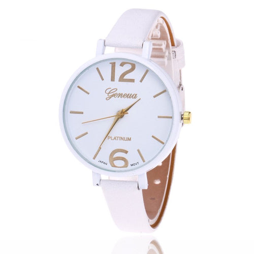 <B>EASY</B> | Orologio donna e ragazza colore <B>BIANCO</B> (<I>Woman and girl watch WHITE</I>)