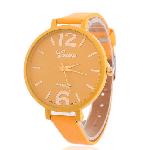 <B>EASY</B> | Orologio donna e ragazza colore <B>GIALLO</B> (<I>Woman and girl watch YELLOW</I>)