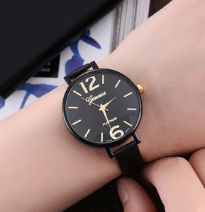 <B>EASY</B> | Orologio donna e ragazza colore <B>NERO</B> (<I>Woman and girl watch BLACK</I>)