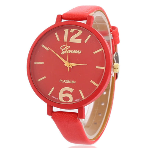 <B>EASY</B> | Orologio donna e ragazza colore <B>ROSSO</B> (<I>Woman and girl watch RED</I>)