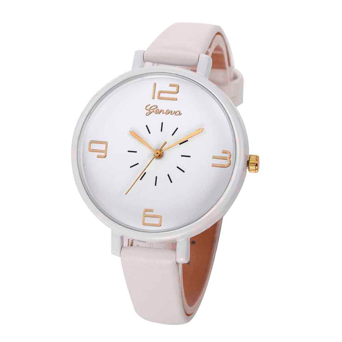 <B>ROUNDLY</B> | Orologio donna e ragazza colore <B>BIANCO</B> (<I>Woman and girl watch WHITE</I>)