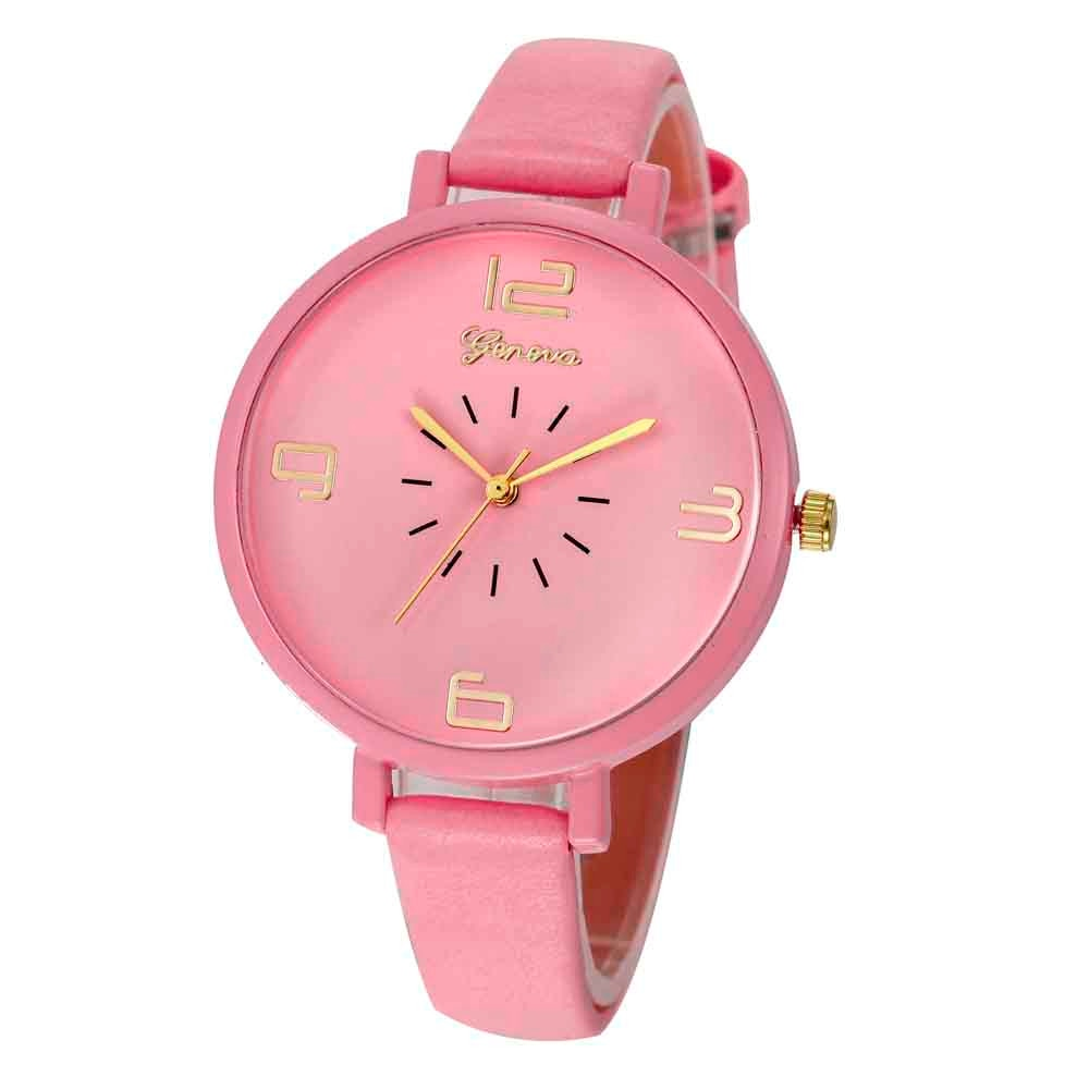 <B>ROUNDLY</B> | Orologio donna e ragazza colore <B>ROSA</B> (<I>Woman and girl watch PINK</I>)