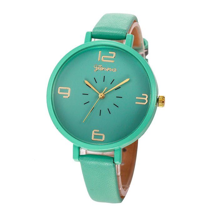 <B>ROUNDLY</B> | Orologio donna e ragazza colore <B>VERDE</B> (<I>Woman and girl watch GREEN</I>)