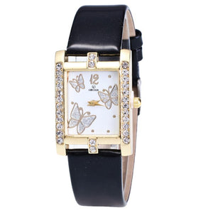 <B>SQUARE</B> | Orologio donna e ragazza colore <B>NERO</B> (<I>Woman and girl watch BLACK</I>)
