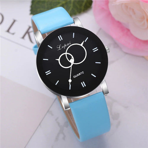 <B>BRISK</B> | Orologio UNISEX per donna, uomo, ragazza e ragazzo colore <B>CELESTE</B> (<I>UNISEX watch for men, woman, girl and boy LIGHT BLUE</I>)