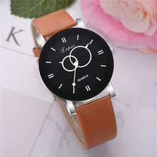 Carica l'immagine nel visualizzatore di Gallery, <B>BRISK</B> | Orologio UNISEX per donna, uomo, ragazza e ragazzo colore <B>MARRONE</B> (<I>UNISEX watch for men, woman, girl and boy BROWN</I>) (Load image into Gallery viewer, <B>BRISK</B> | Orologio UNISEX per donna, uomo, ragazza e ragazzo colore <B>MARRONE</B> (<I>UNISEX watch for men, woman, girl and boy BROWN</I>))